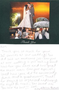 CT DJ Kurt Entertainment / Client Testimonials - Michaud-Mazurek Wedding-10.11.14
